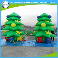 Best Quality Customized Colored Inflatable Christmas Tree