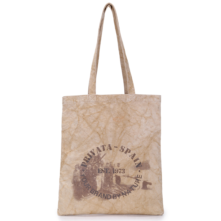 2017 Hot Selling Custom Logo Printed Design Fashion Vintage Shopping <strong>Tote</strong> Canvas Bag