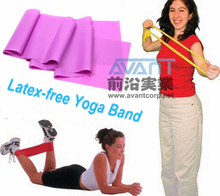 Latex Rubber Arm Resistance Stretch Band Rope Fitness Exercise Pilates Yoga Gym