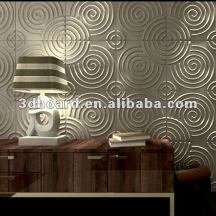 Embossed decorative 3d rude wallpapers for spa decoration
