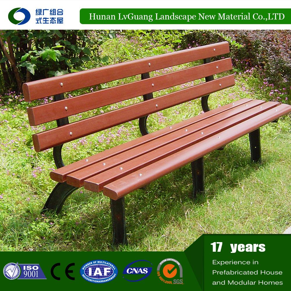 china manufacturer cheap garden park chair bench/garden chairs