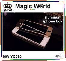 FOR IPHONE 5 TWO PIECES ALUMINUM PHONE BOX CASES