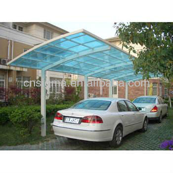 2016 High quality outdoor products modern plastic carports