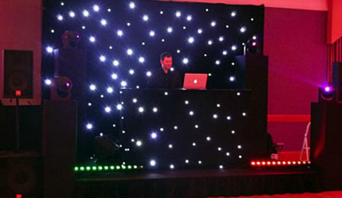 LED Star curtain / LED drape cloth/Twinkly curtain Decoration Light
