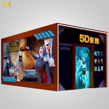 Hot Sale 5D Cinema Home Theatre Hydraulic/Electric System 4D Simulation Ride 5D 7D 9D Cinema