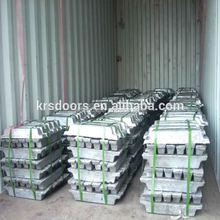 Zinc 99.995% zamak 2/3/5 ingot different purity zinc ingot