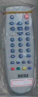 TV REMOTE CONTROL MODEL MATRIX 09, FOR YEMEN MARKET, ANHUI FACTORY, TIANCHANG MANUFACTURER