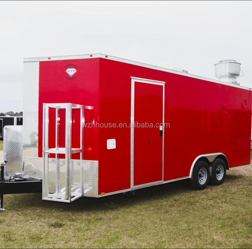 Food Caravan, Mobile Kitchen Truck