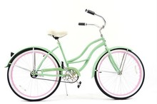 26inch new beach cruiser bike for women lady bicycle