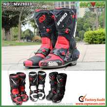 Custom Motorbike Racing Boots Mens Motorcycle boots Women MV29010