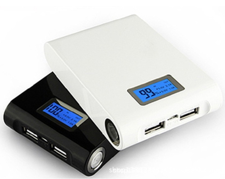 High Quality 10000mah Power Display Power Bank with Extrernal Battery and LED Tourch for Mobile Phone/Laptop
