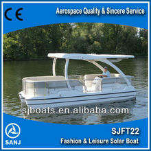 solar powered Solar Sightseeing Boat for sale