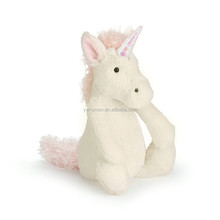 big size white plush horse animal toy farm animal hotesale horse stuffed toy 40cm size sitting