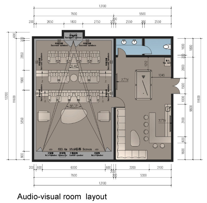 Bisini automation home theater music system design buy home theate automation home theater - Useful home theater design plans ...