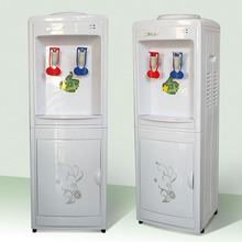 Vertical elegent design floor standing water dispenser with hot and cold water,public water dispenser