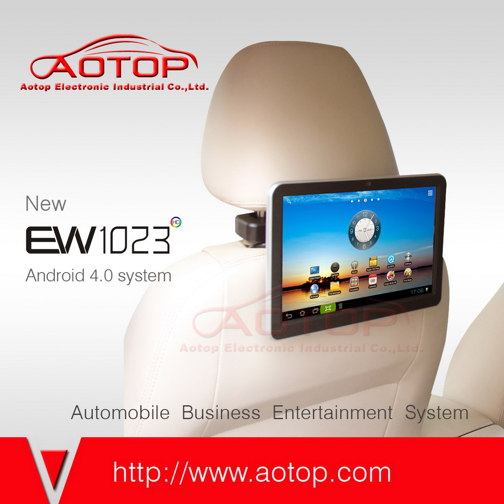 10.1inch Android 4.0 tablet pc smartq u7 with Wifi, 3G Function