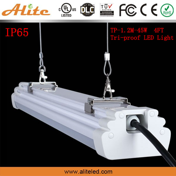 UL DLC 2ft 3ft 4ft 5ft 8ft Led tri-proof linear lamp
