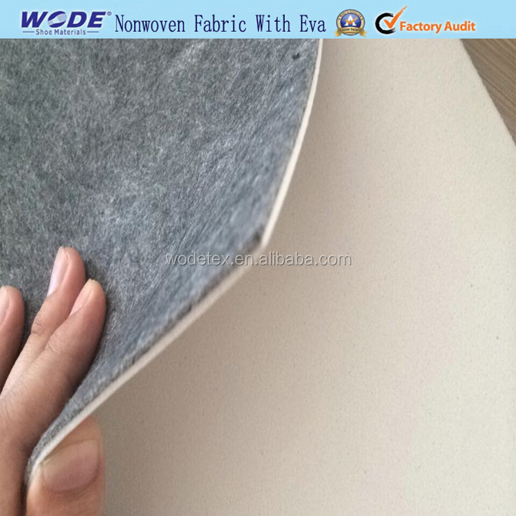 Good Quality Grey nonwoven Insole Board With Eva For Shoe