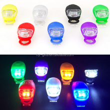 super bright power silicone bike light frame 2 led bicycle light silicone
