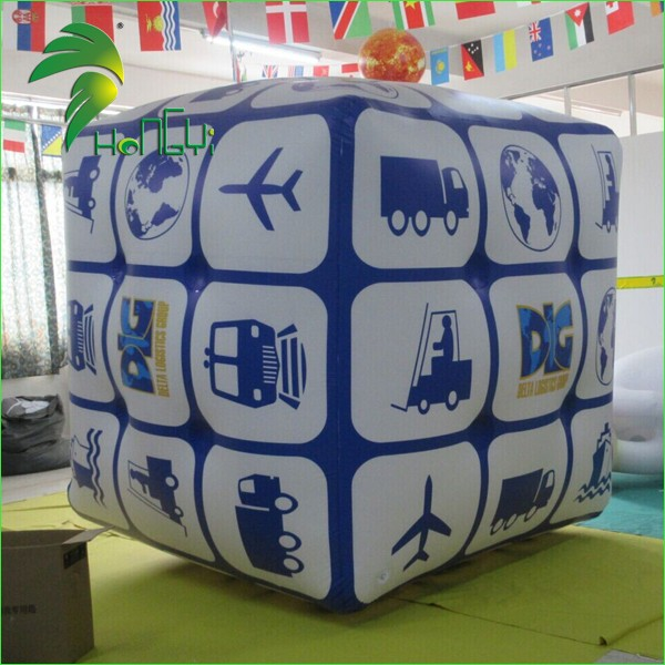 Inflatable Helium Cube Balloon1