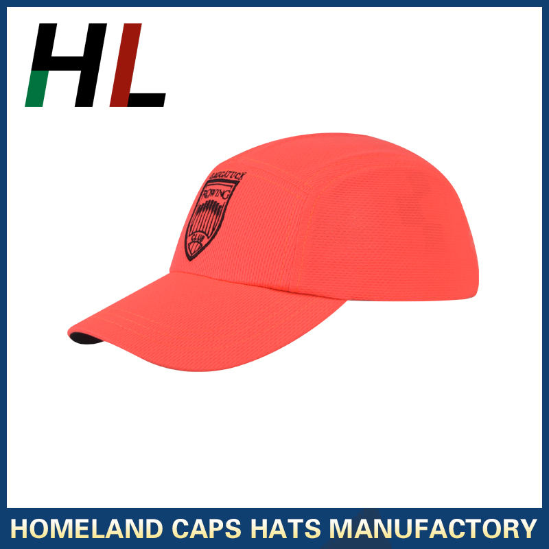 5 panel custom moisture wicking mesh running hats