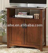 hotel used Double door MDF TV stand hotel LCD smart TV wholesale
