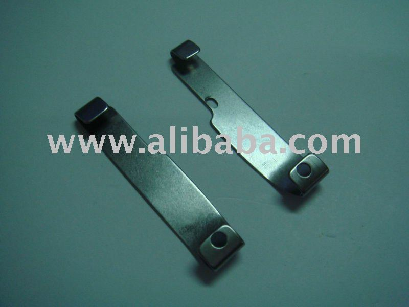 4-needle 6-thread flatseamer of presser foot spring