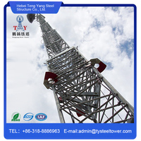 High Quality Communication Telescopic Steel Mast Lift Tower
