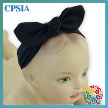 Wholesale Baby Striped Knot Headband Kids Turban Baby Headbands Girls Cotton Knot Headband