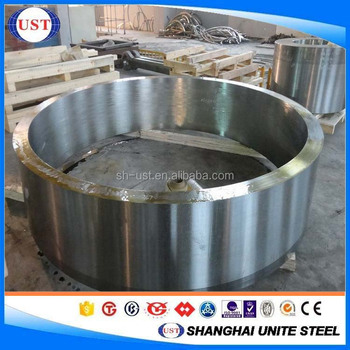 1020/1035/1045/4140/SCM440/4340 professional hot forging ring, Small MOQ available