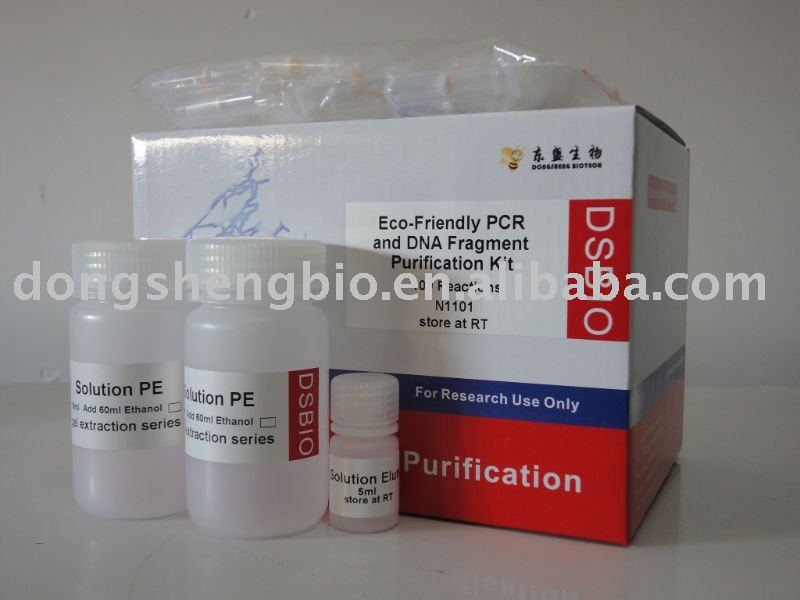 Eco Friendly PCR and DNA Fragment Purification Kit DNA Purification Kit