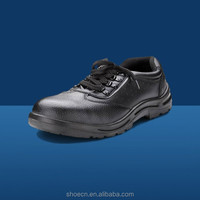 Puncture resistance safety boot genuine leather best climbing china low price For building worker groundwork to safe shoes