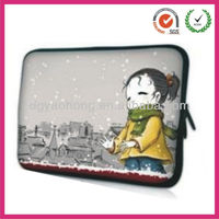 2013 aoking pretty girls neoprene laptop sleeve bags (factory)