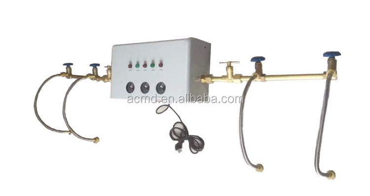 Hospital Gas Pipeline System Medical Dual Manifold Systems