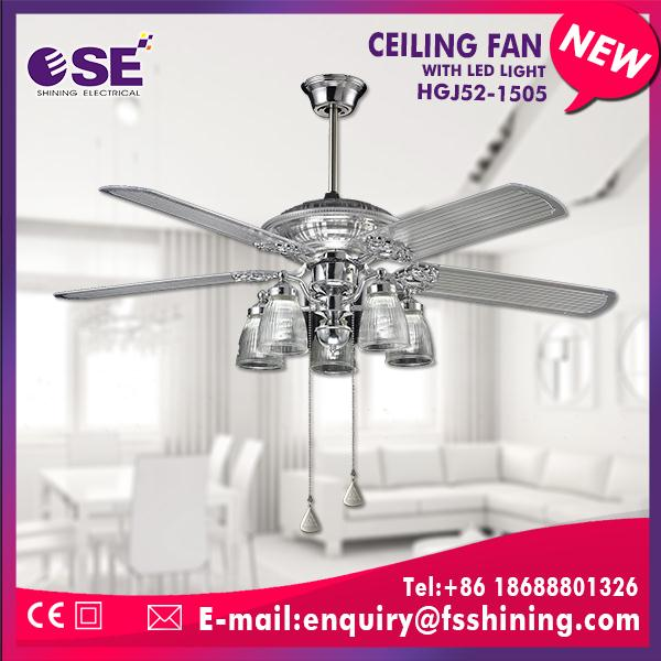 52 inch industrial best ceiling fan company with pull control