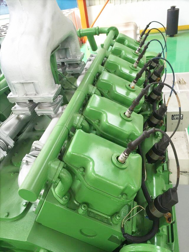 400kw natural gas generator set 24 v electric start with 12V190 engine export to Russia/Uzbekistan