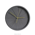 Luxury Concrete Wall Mounted 3d Wall Clock