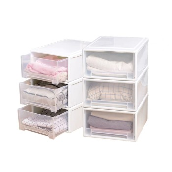 Covered drawer type acrylic storage box for storing underwear