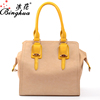 Latest PU leather tote bag Dubai fashion women handbag lady wholesale cheap travel style handbag from China