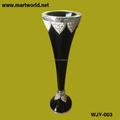 2018 New design Hand make resin vase wedding decoration;Decorative resin wedding column(WJY-003)