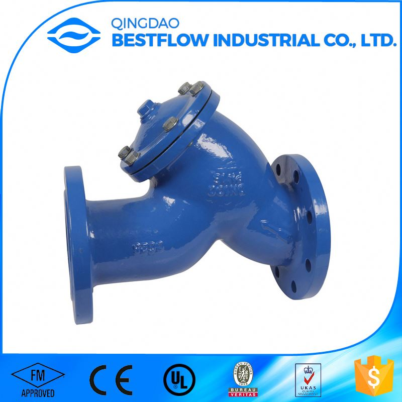 China supplier din dn150 cast iron y strainer pn16