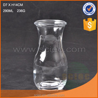 Decorative mini glass Milk Bottle wholesale bottles300ml