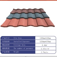 Building Roofing Materials Stone Coated Steel /Metal / Roof Tile
