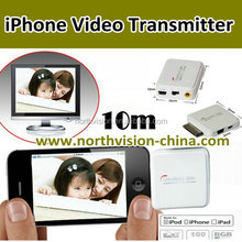 iphone wireless video adapter, transmit video from mobile phone to TV by wireless