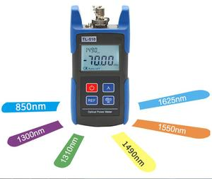 Telecommunication -70~+10dBm TL510A Optical Power Meter with FC SC Connector
