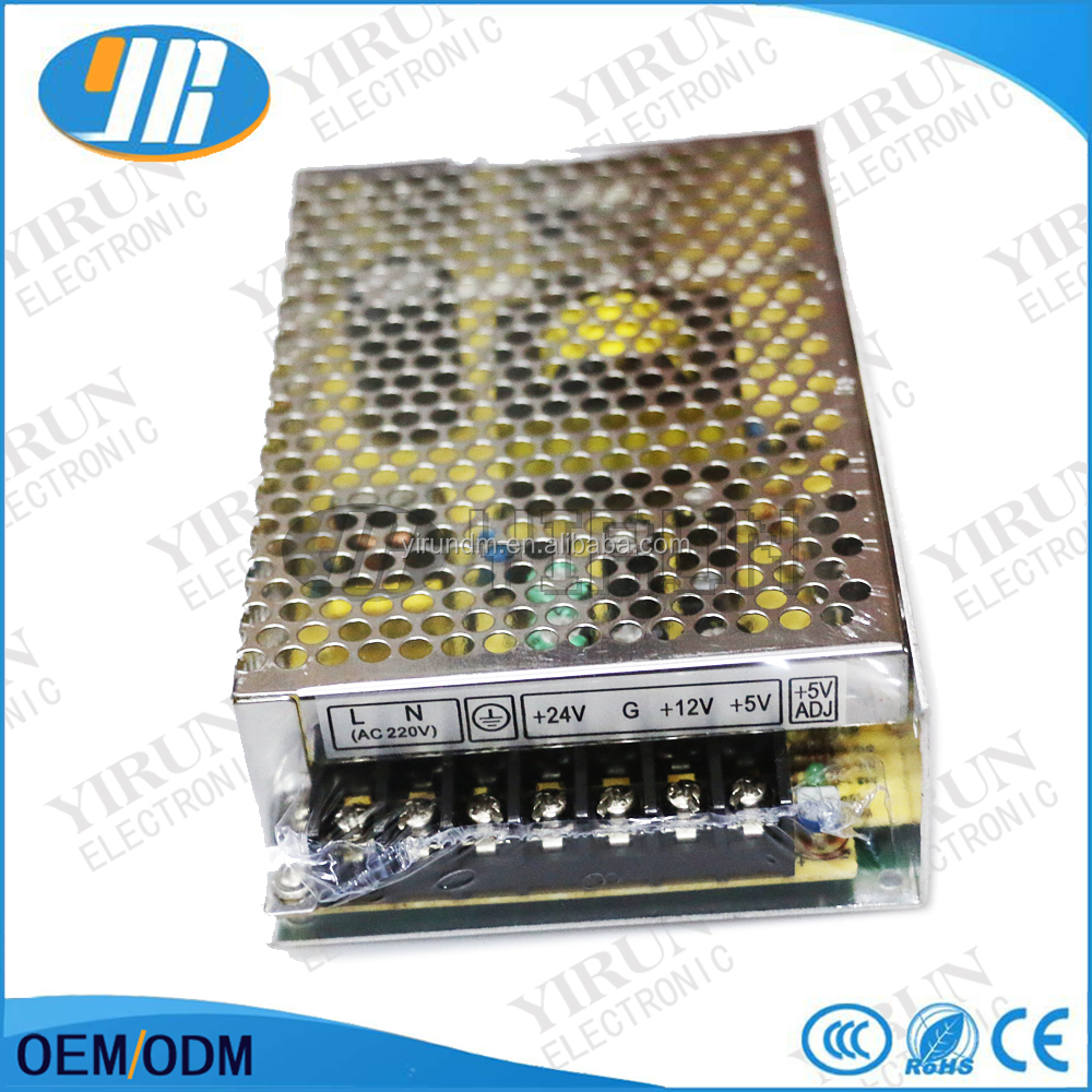 24V 1.5A/12V 6A / 5V 2A Switching Power Supply 100~ 260VAC for Arcade machine cabinet accessories JAMMA MAME