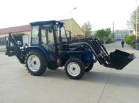30-50hp 4wd farm tractor TZ04D mini front end loader for sale
