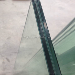 security roofing panel 8+1.52+8 tempering laminated glass