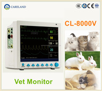 "Best Selling CL-8000V CE marked Portable handhled 12.1"" Multi-parameter Veterinary Patient Monitor for VET"