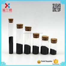 Best selling borosilicate glass test tube with cork